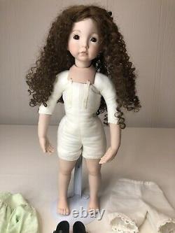Dianna Effner porcelain Expressions doll, Emily 18 1991