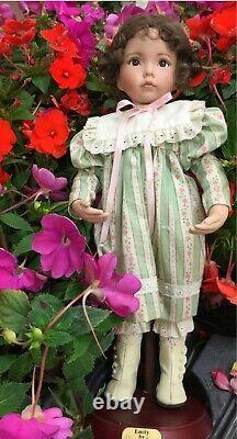 Dianna effner porcelain doll, Emily, Ashton drake