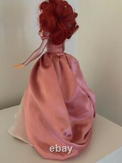 Disney Princess Ariel Ball Jointed Doll Holding Shell With Pearl