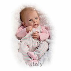 Elizabeth Weighted & Poseable Baby Doll by Ashton Drake New NRFB