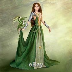 Emerald Enticement Enchanted Maiden Dragon Lore Doll Nene Thomas Ashton Drake