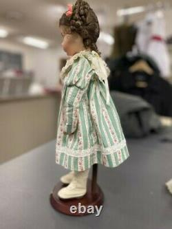 Emily Doll by Dianna Effner Porcelain Doll Ashton Drake Limited Edition