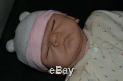 Emily L. W. Ashton Drake ADG Linda Webb Baby Girl Doll Silicone Life Like Newborn