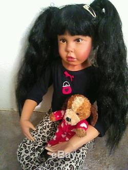 Ethnic Ashton Drake Toddler Size Doll
