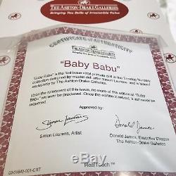 Extremely Rare, Mint Condition, Ashton-Drake Baby Babu Lifelike Monkey Doll