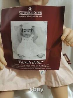 Farrah Beth So Truly Real Vinyl Baby Doll by The Ashton Drake Co WithBaby Scent