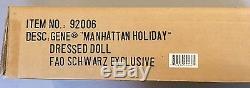 Gene Manhattan Holiday Fao Schwarz Exclusive Nrfb In Shipper