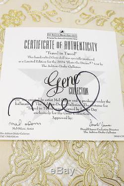GENE TRAVEL IN TWEED Signed Cert. By Mel Odum, Ashton Drake- 2004 MIB