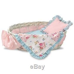 Gabby Rose Lifelike Baby by Ashton-Drake with Quilt and Blanket New