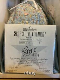 Gene Blue Belle 10th Anniversary NRFB 2005 Ashton Drake Mel Odom