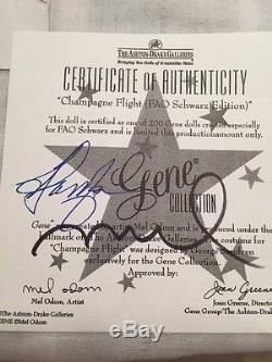 Gene Champagne Flight- FAO Redhead -NRFB- LE 200- 2002 AD