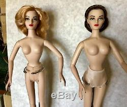 Gene Doll Nude MADRA x 2 Cold Shoulder & Red Fox