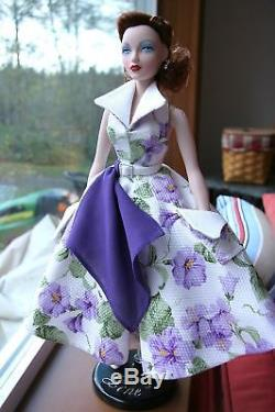 Gene Marshall OOAK Auction Doll Floral Lilac