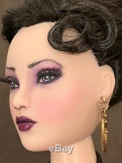 Gorgeous Gene Doll Artist Repaint Franklin Mint Black Kimono Titanic Dress
