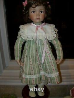 HIGHLY SOUGHT AFTER DOLL Dianna Effner porcelain doll Emily, Ashton Drake 3 day