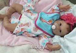 I LOVE U! -Newborn 20 Collectors Life Like Weighted Baby Girl Doll +Outfits