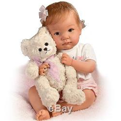 I Promise to Love You Teddy, 19'' Baby Doll by Ashton Drake New NRFB