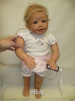 Isabella's First Steps Interactive Walking Baby Doll Ashton Drake Works! Sweet