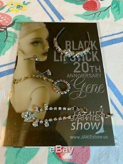 JAMIEshow, BLACK LIPSTICK Gene, 16 doll, 20th Anniversary Gene