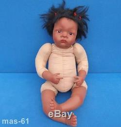 Jasmin Künstlerpuppe Waltraud Hanl Puppe 56 CM Ashton Drake Real Touch Doll