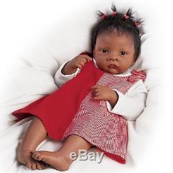 Jasmine Goes To Grandma's Ashton Drake Doll by Waltraud Hanl 22 inches