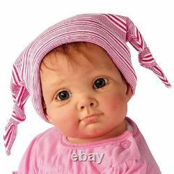 Julia & The Sock Goblin So Truly Real Lifelike Baby Girl Doll by Ashton-Drake