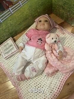 Julia & The Sock Goblin So Truly Real Lifelike Baby Girl Doll by Ashton Drake