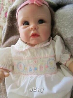 LINDA MURRAY-ASHTON DRAKE SILICONE DOLL20 CollectorsLIFE-LIKENewborn Baby