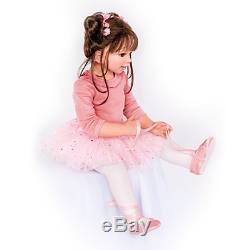 Lara, a 31 inch Ballerina Doll by Monika Levenig Ashton-Drake Galleries
