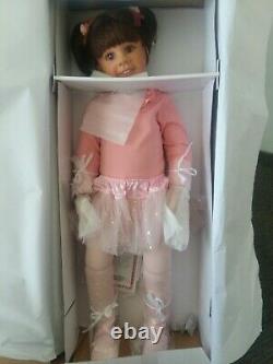 Lara ballerina 31 Ashton Drake Gallery Doll by monika levenig