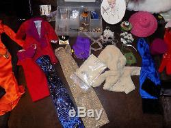 Large Lot Gene Madra Alex Tyler Wentworth Tonner Fashion Doll Clothes Heels etc
