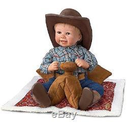 Lil Blake 18'' Cowboy Doll by Ashton Drake New