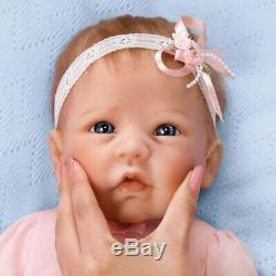 Linda Murray Claire Silicone Baby Girl Doll True Touch Ashton Drake NEW Gift