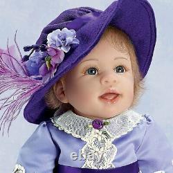 Linda Murray Isabella 20-Inch Lifelike Baby Girl Doll by Ashton Drake New