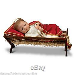 Linda Murray Signature Edition Porcelain Baby Doll Jesus, The Savior Is Born