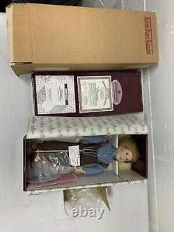 Little House on the Prarie Dolls Complete Set of 8 MIB By Ashton Drake