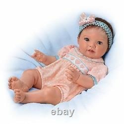 Littlest Sweetheart 16'' Lifelike Baby Doll by Ashton Drake New