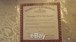 Lot May God Bless You Little Grace & A Lovely Gift of Lauren Ashton-Drake Dolls