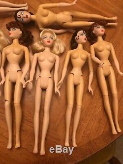 Lot Of 10 Gene Dolls By Mel Odom