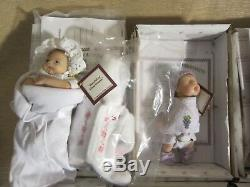 Lot of 12 Ashton Drake Dolls Sweet as you Please 5 Mini Realistic Doll