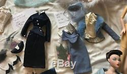 Lot of GENE MARSHALL Violet Madra 19 Outfits, 1 Dressed Doll, 2 Nude Dolls