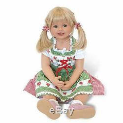Louisa in Bavarian Costume by Monika Peter-Leicht Ashton-Drake Galleries