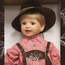 Luis in Bavarian Costume by Monika Peter-Leicht Ashton-Drake Galleries