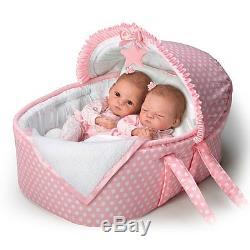 Lullaby Twins Ashton Drake Doll By Waltraud Hanl 14 inches
