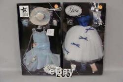 MIB Ashton Drake Gene Doll and 4 MIB Outfits Mel Odom Share the Dream Hatbox