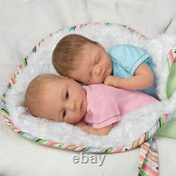 Madison And Mason Twins in Custom Bunting So Truly Real Lifelike & Realistic New