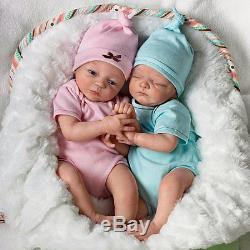 Madison & Mason Twin Dolls by Ashton Drake