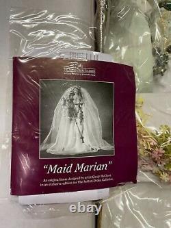 Maid Marian by Cindy McClure Porcelain Bride Doll Original RARE original