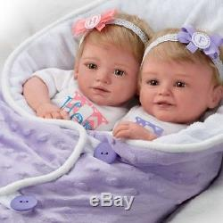 Mayra Garza Hope And Faith Baby Doll Set With Baby Bunting