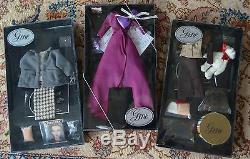 Mel Odom GENE Fashion Doll Ashton Drake + three outfit sets + Lingerie NRFB DX